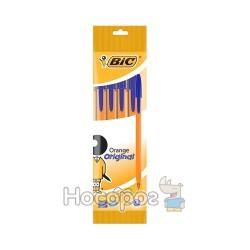 Ручка шариковая BIC Оранж (в наборе 4 шт) синяя 8308521