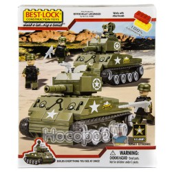Конструктор 33059 Танк (290 деталей)
