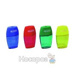 Точилка 4Offce 4-345 (04060090) пластм. овальна з контейнером (24)