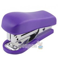 Степлер мини NORMA 4045 с дестеплером, фиолетовый