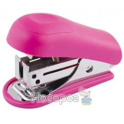 Степлер міні NORMA 4046 рожевий