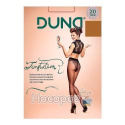 Жіночі еластичні колготки Дюна Temptation 133 р. 3, 20 DEN, мокко