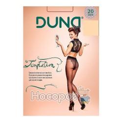 Жіночі еластичні колготки Дюна Temptation 133, р. 4, 20 DEN, беж