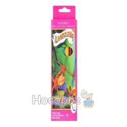 Карандаши цветные Leonardo 6 цветов