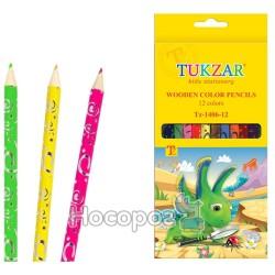 Карандаши цветные ТZ-1406-12