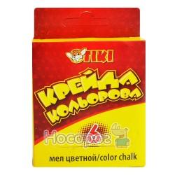 Крейда кольорова Рюкзачок 51501-ТК Тікі