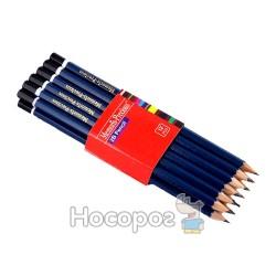 Олівці графітні Memoris MF1642-HB синій корпус