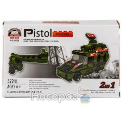 Конструктор В 1138190 Военная машина /автомат (529 деталей)