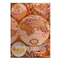 """Дневник школьный J.Otten HDU086 ТП """"Карта мира"""""""