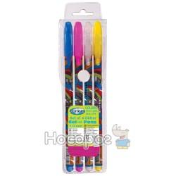 Набір гелевих ручок з блиском 4 кольори Centrum 84191