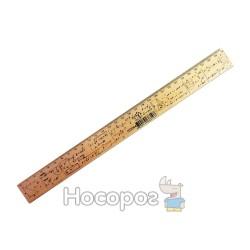 Линейка деревянная Мицар геометрия 30см