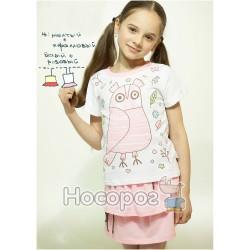 """Костюм """"Совушка"""" КС-160 футболка+юбка 1601213"""