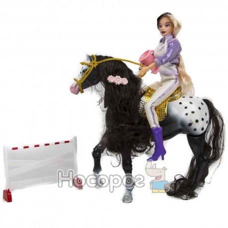 Лялька 83194 наїзниця, конячка скаче,звук (18)