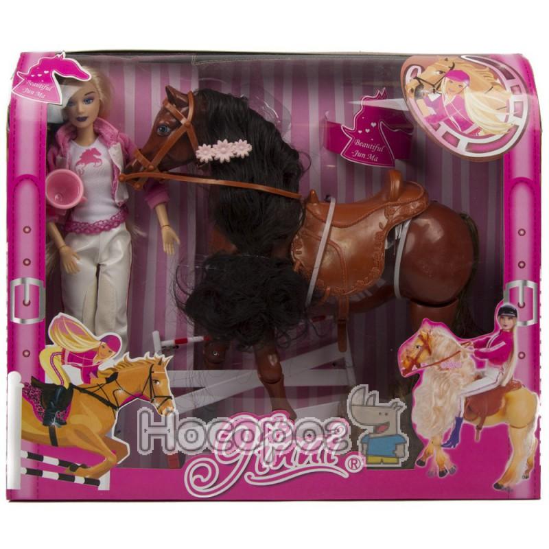 Фото Лялька 83194 наїзниця, конячка скаче,звук (18)