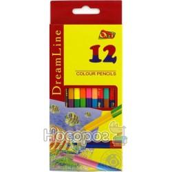 Карандаши двухцветные Dream Line OL-411-12