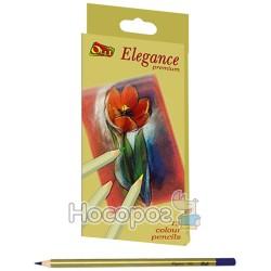 Карандаши цветные Ol-710-12 Elegance