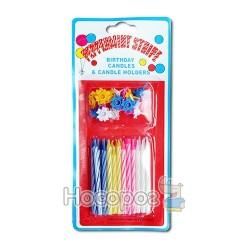 Набор свечей для торта Birthday candles 10442 (50026)