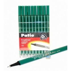 Ручка лайнер Patio TRIO 19613ПТР зеленый