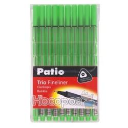 Лінер Тріо 17763PTR набір 10 шт, колір яскраво-зелений