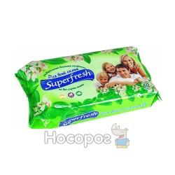 Влажные салфетки Superfresh для всей семьи 60 шт