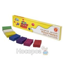 """Пластилін Гамма """"Улюблені іграшки"""" 331025 7 кол"""