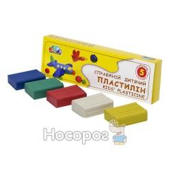 """Пластилин Гамма """"Любимые игрушки"""" 331024 5цв"""
