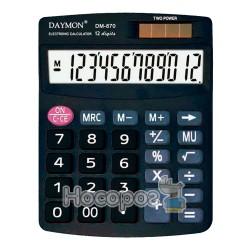 Калькулятор DAYMON DМ-870 бухгалтерський, 12 р.
