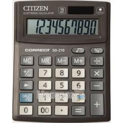 Калькулятор Citizen Correct SD-210