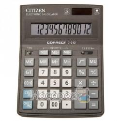 Калькулятор Citizen Correct D-312 Бухгалтерский