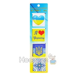 "Закладка магнітна ""Символи України"" 23980-3"