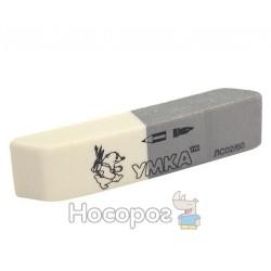 Гумка Умка ЛС02/60 сіро-біла