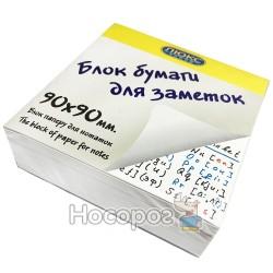 Бумага для заметок Люкс Колор 90-60БН