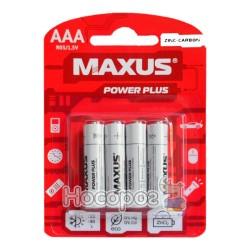 Батарейки MAXUS R03-ААА-С4 мініпальчик