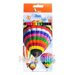 """Олівці кольорові Умка """"Повітряні кулі"""" 12 кольорів 01151950"""