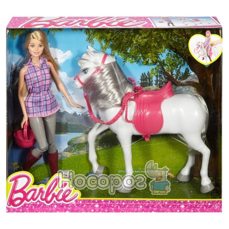 Фото Кукла с лошадью Barbie DHB68 WB3