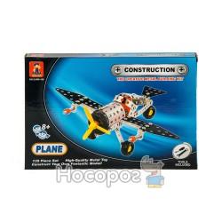Конструктор металлический SJ 699-106 Самолет (135 деталей) (72)