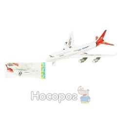 Літак інерційний 530 (384шт/2) в пакеті 30*13*5см