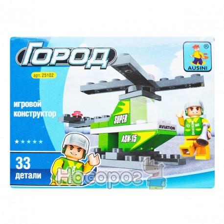 "Фото Конструктор ""Brick"" ""Вертолет"" 25102 Кон 5102"