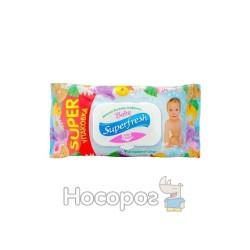Салфетки влажные детские Superfresh