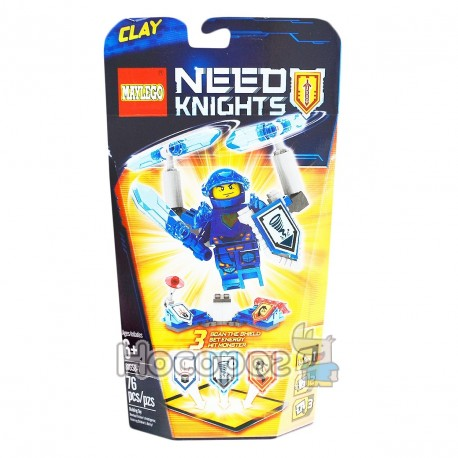 "Конструктор ""Brick"" ""NEXO knights"" 81658 Кон1658"