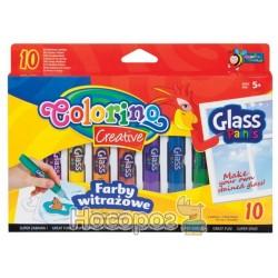 Краски для стекла 34210 PTR 10 цветов Colorino