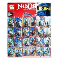 Конструктор SENCO SY1150 (36шт/2) 6 видів героїв, 24 шт, на планшетці 51*40см