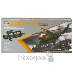 Конструктор В 1138208 Военный автомат / Вертолет (439 детали)
