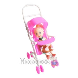 Кукла с коляской 8888