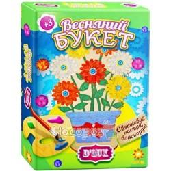 Деревянная раскраска Весенний букет № 1