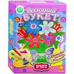 Деревянная раскраска Весенний букет № 2