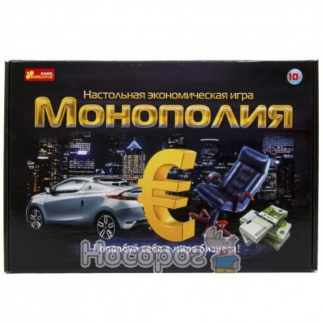 """5807 Економічна гра """"Монополія"""" (10+) 12119001Р"""