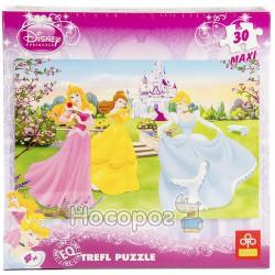 """Пазл """"Три принцессы возле дворца"""" Disney"""
