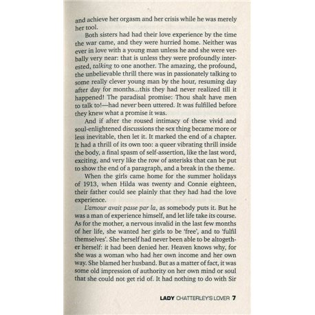 Фото D.H.Lawrence Lady Chatterley's Lover