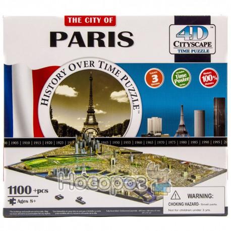 Пазл 4D 40028 Париж (в коробці, 1100 деталей, 30,5*26,5*9см) (4)